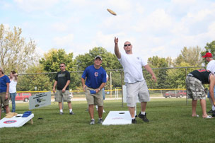 Photo of bags tournament